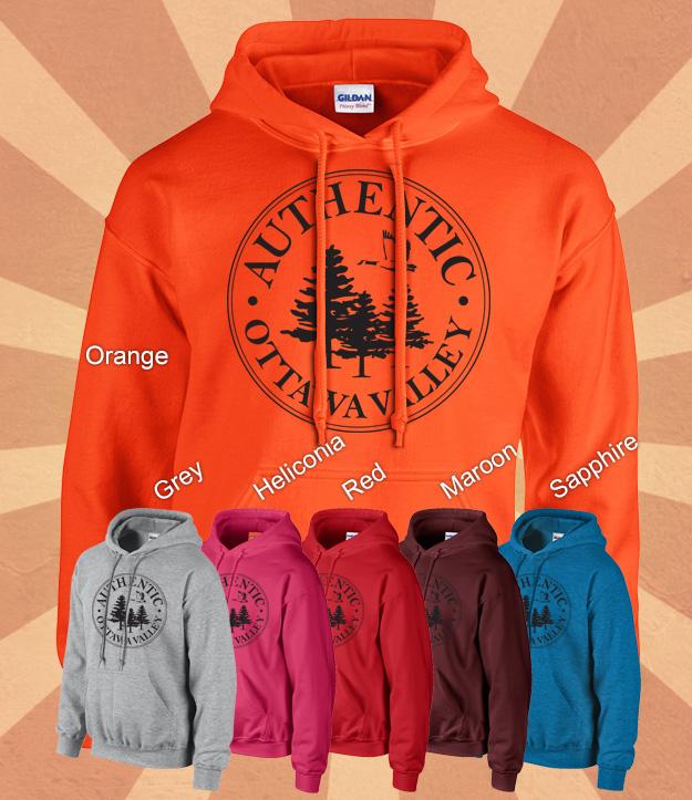 Hunters Orange Clothing These Hunter-orange Hoodies